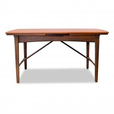 Vintage Danish design Svend Aage Madsen teak/oak extendable dining table