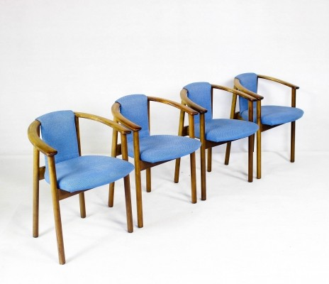 Set of 4 Vintage Danish Chairs