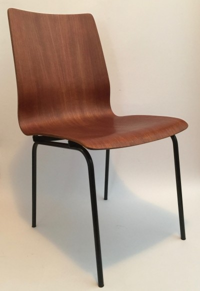 2 x Euroika dining chair by Friso Kramer for Auping, 1960s