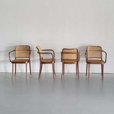 No. A811 / Prague Armchairs by Josef Hoffmann for FMG & Thonet, 1950s