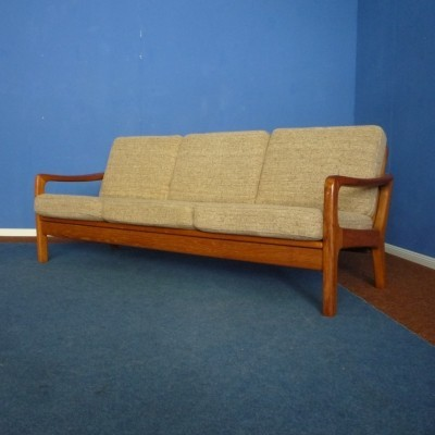 Teak Daybed or Sofa by Juul Kristensen, 1960s