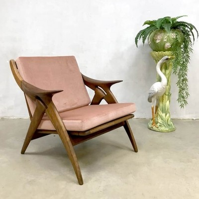 The Knot arm chair by De Ster, 1960s