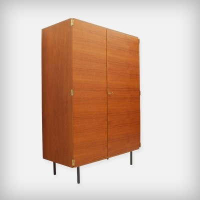 German Teak Wardrobe by Günter Renkel for Rego Mobile Möbel, 1960s