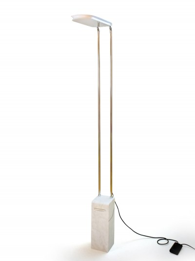 Gesto Terra Floor Lamp by Bruno Gecchelin with Marble Base