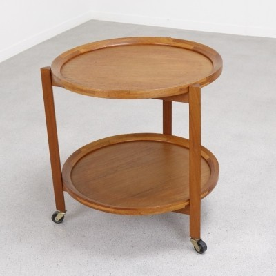 Sika Møbler serving trolley, 1960s