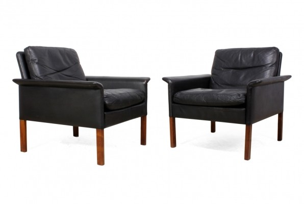 Mid Century Danish Arm Chairs by Hans Olsen