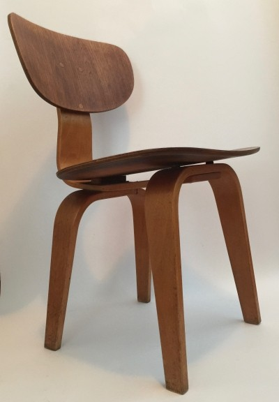 SB02 dinner chair by Cees Braakman for Pastoe, 1950s