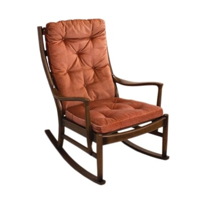 PK1016-19 rocking chair from Parker Knoll, UK 1960s