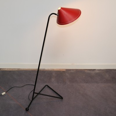 Pinocchio floor lamp by H. Busquet for Hala Zeist, 1960s