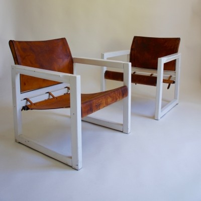 1970's Diana Chairs By Karin Mobring