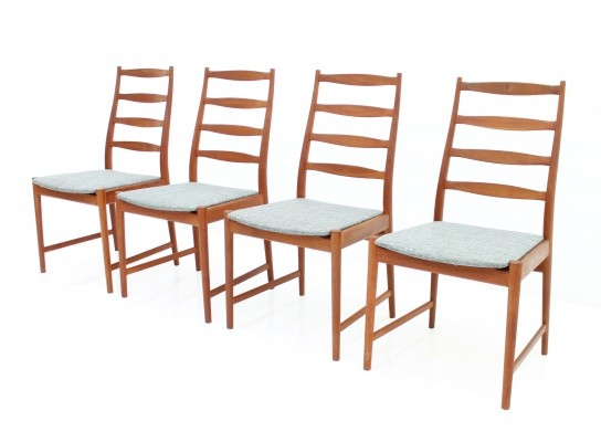 Set of 4 dinner chairs by Arne Vodder for Vamo Sønderborg, 1960s