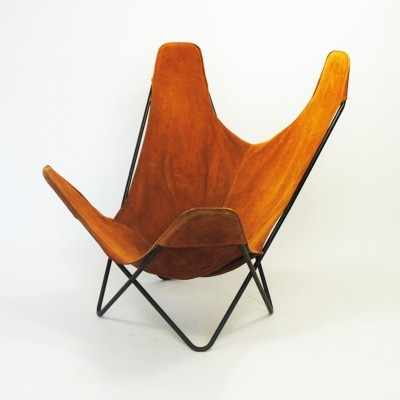 Lounge chair by Jorge Ferrari Hardoy for Knoll International, 1970s