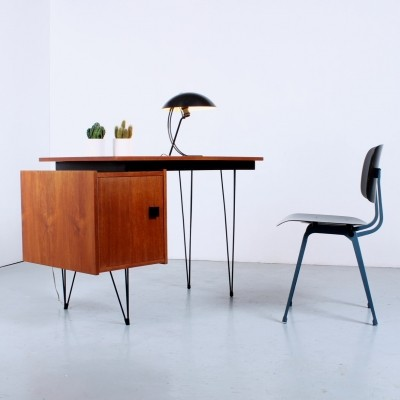 Hairpin desk by Tijsseling, 1950s