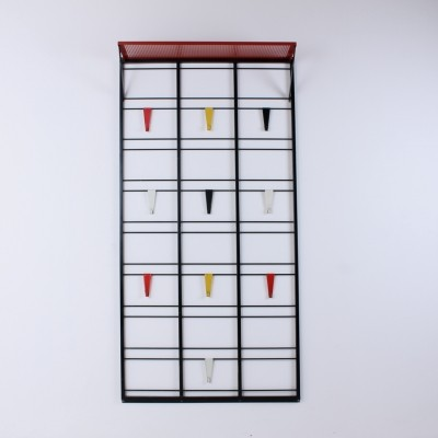Servo muto / Toonladder coat rack by Tjerk Reijenga for Pilastro, 1950s