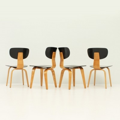 Set of Four SB02 Chairs by Cees Braakman