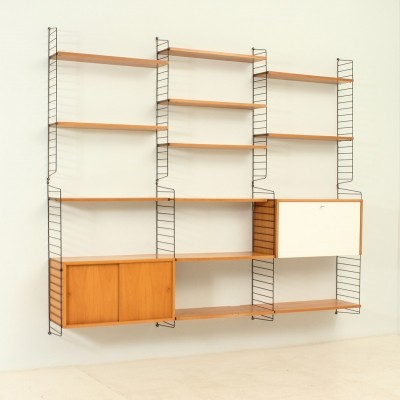 Wall Unit by Kajsa & Nisse Strinning for String Design AB