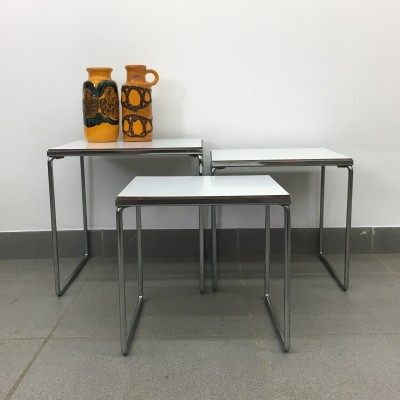 Brabantia nesting tables, 1970's