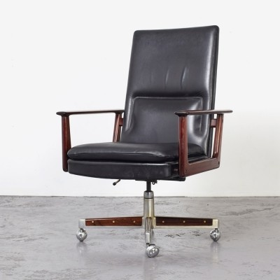 Arne Vodder Desk Chair by Sibast Denmark, 1960s