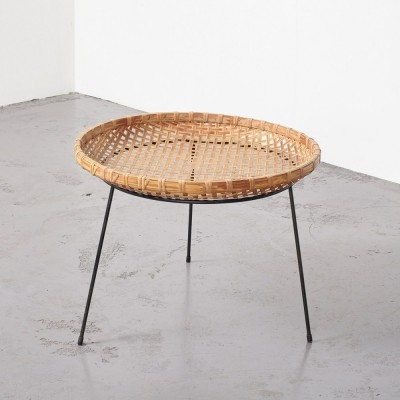 Artimeta magazine basket stand by Metz & Co, 1950s