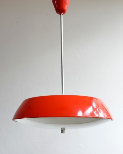 Model 1117 hanging lamp by Josef Hůrka for Napako, 1960s