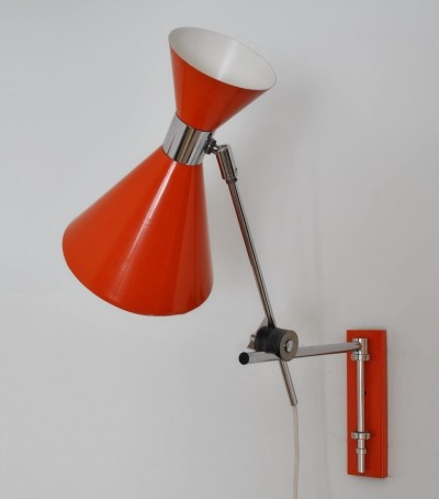 Diabolo wall lamp by Herda, 1960s
