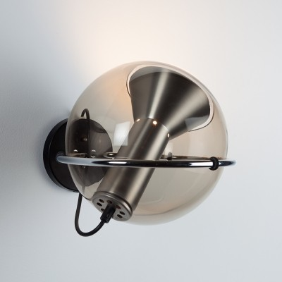 2 x Globe (C-1512.20) wall lamp by Frank Ligtelijn for Raak Amsterdam, 1960s