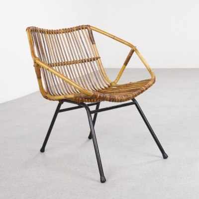 Early lounge chair by Dirk van Sliedregt for Rohé Noordwolde, 1950s