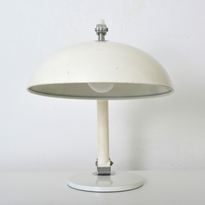 Model 144 desk lamp by H. Busquet for Hala Zeist, 1950s