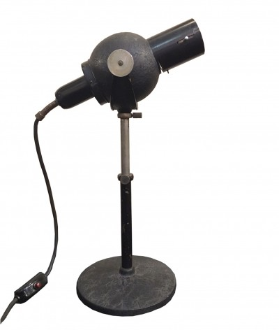 1950s table lamp with magnifier
