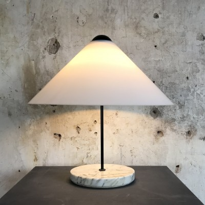Rare 'Snow' Table lamp by Vico Magistretti for Oluce, Italy 1976