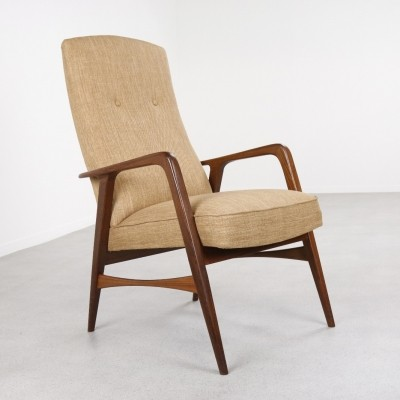 Kontur lounge chair by Alf Svensson for Fritz Hansen, 1960s