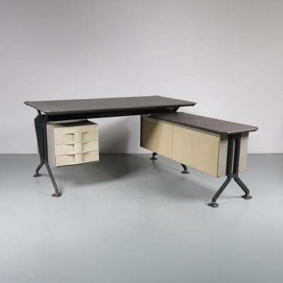 Writing desk by Studio BBPR for Olivetti, 1950s