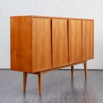 1960s cherrywood highboard by Holzäpfel, Germany