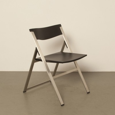 P08 folding chair by Justus Kolberg for Tecno, 1990s