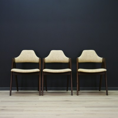 3 x Kai Kristiansen dining chair, 1960s