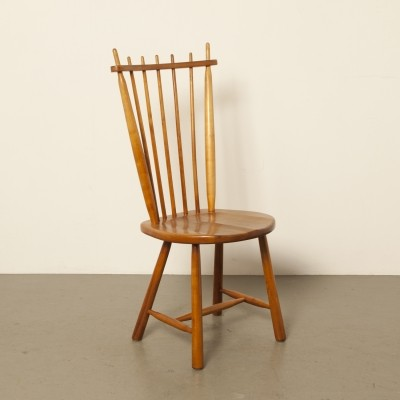 4 x Windsor style dining room chair