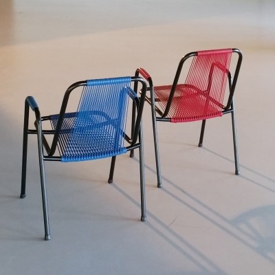 Set of 2 Garden Chairs by Spimeta, 1950s