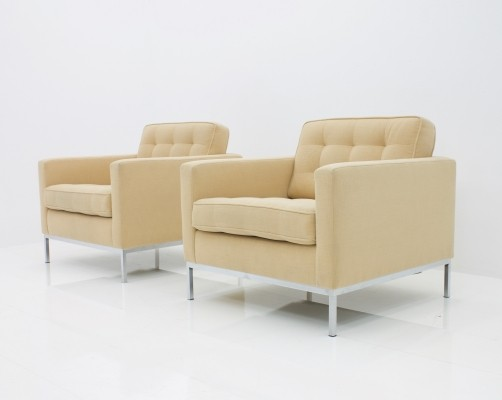 Florence Knoll Lounge Chairs for Knoll International