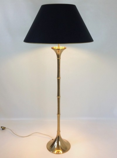 Brass ML 1 Bamboo Floor Light by Ingo Maurer for Design M, 60s