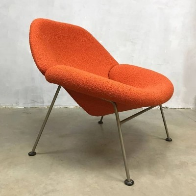 Vintage design F555 lounge chair by Pierre Paulin for Artifort
