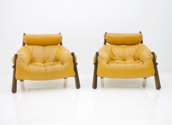 MP-81 Lounge Chairs by Percival Lafer