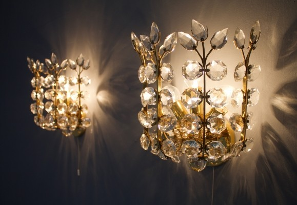 Wall Sconces by Oswald Haerdtl for Lobmeyr