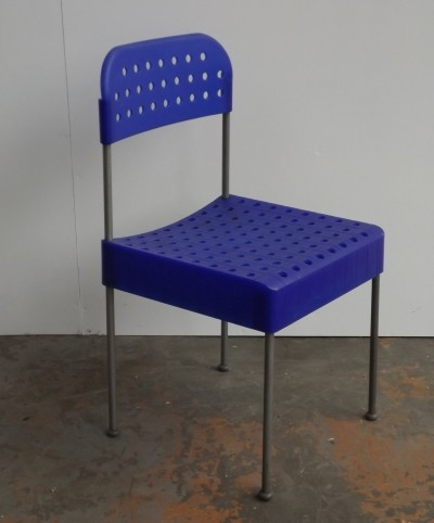 The Box dinner chair by Enzo Mari for Aleph, 1980s