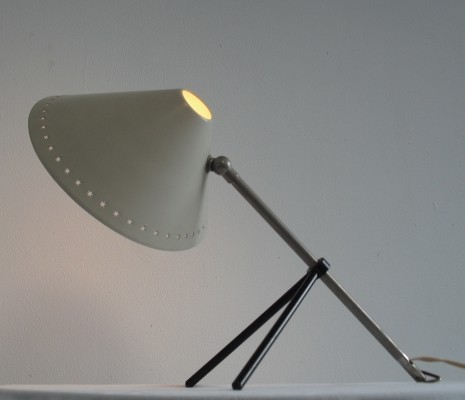 Hala Pinocchio Table or Wall Lamp by H. Busquet, 1950's