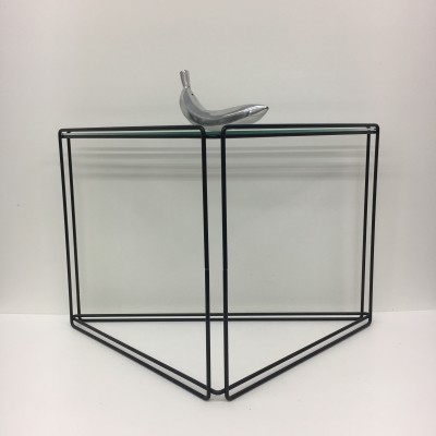 Triangle 'isocele' side table by Max Sauze, 1970's