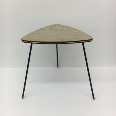 Vintage Pilastro triangle side table, 1950's