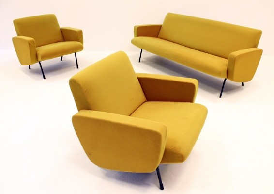 Breda seating group by Pierre Guariche for Meurop, 1950s