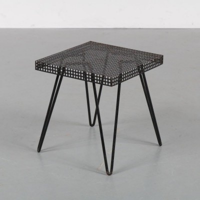 1950s Metal plant / side table by Pilastro