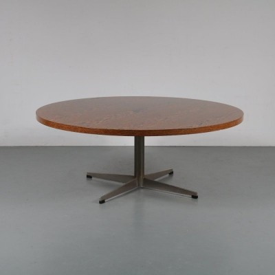 1960s Wengé coffee table by Topform