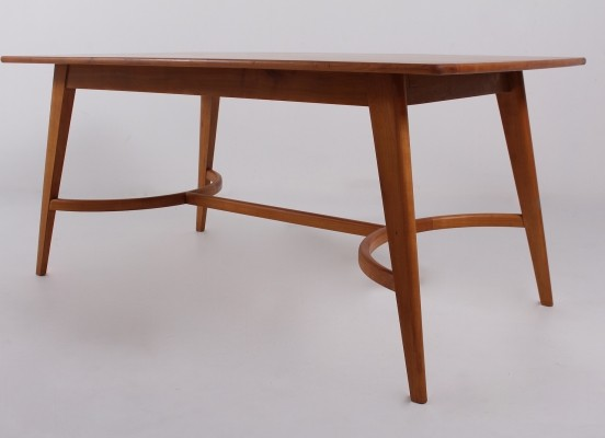 Mid century 'Compas' cherry dining table